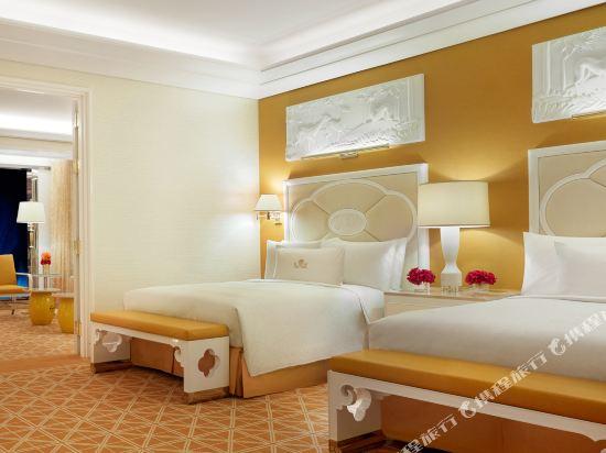 澳門永利皇宮酒店(Wynn Palace)表演湖景雙床套房