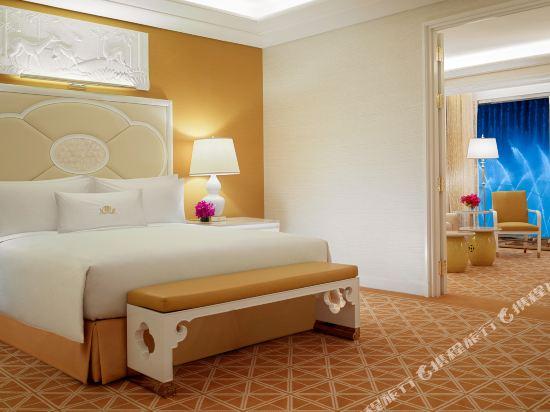 澳門永利皇宮酒店(Wynn Palace)表演湖景大床套房