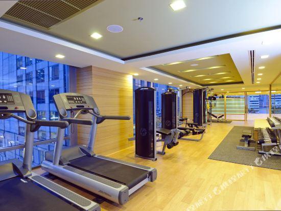 曼谷斯瓦特爾酒店(Sivatel Bangkok)健身房