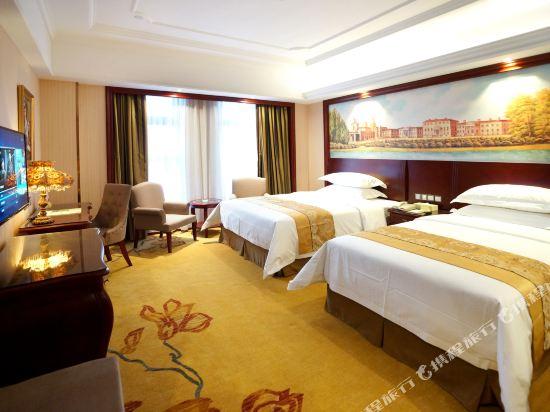 維也納國際酒店(上海浦東機場自貿區店)(Vienna International Hotel (Shanghai Pudong Airport Free Trade Zone))高級雙床房