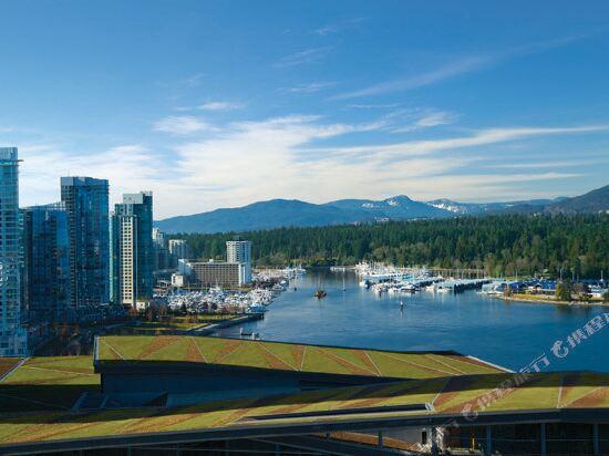 温哥華泛太平洋酒店(Pan Pacific Vancouver)眺望遠景