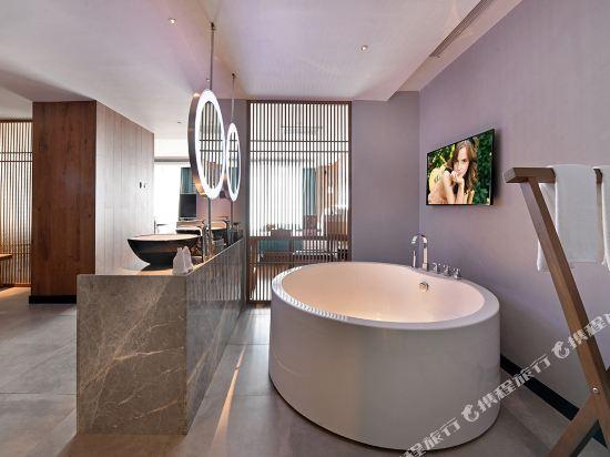 美豪麗致酒店(廣州五羊新城店)私家庭院開闊房
