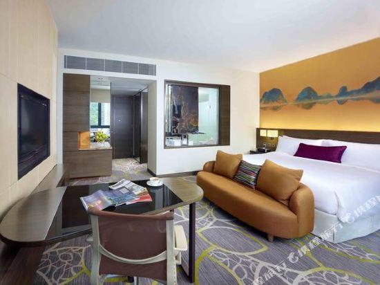 香港九龍東皇冠假日酒店(Crowne Plaza Hong Kong Kowloon East)高級聯通房