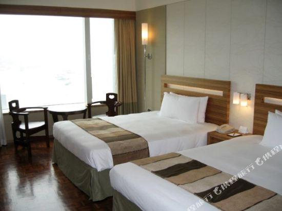 香港如心海景酒店暨會議中心(L'hotel Nina Et Convention Centre)如心標準連通四人房
