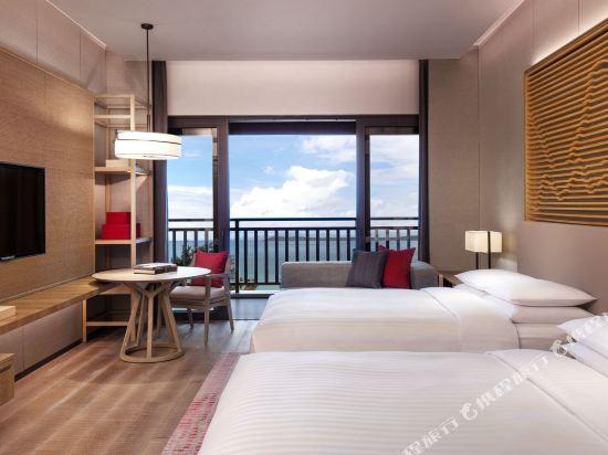 深圳佳兆業萬豪酒店(Shenzhen Marriott Hotel Golden Bay)至尊海景雙床房