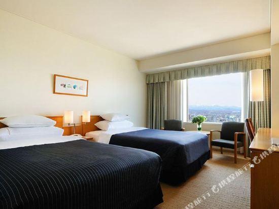札幌艾米西亞酒店(Hotel Emisia Sapporo)標準雙床房