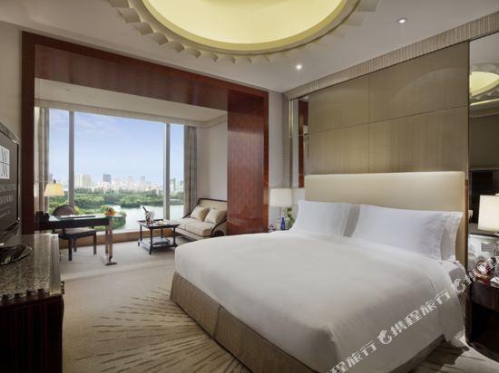 上海中谷小南國花園酒店(WH Ming Hotel)豪華湖景房