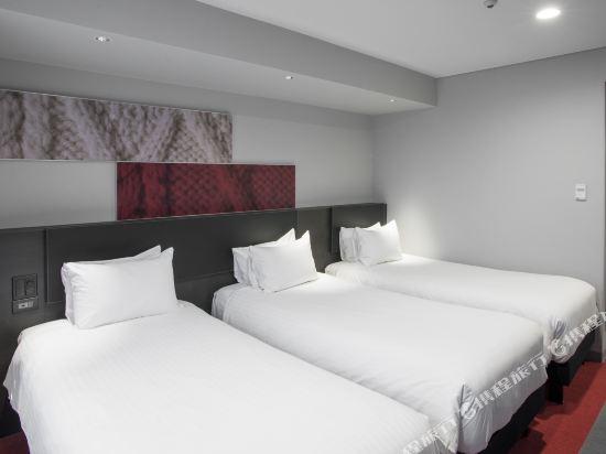 宜必思東京新宿酒店(Ibis Tokyo Shinjuku)翻新三人房