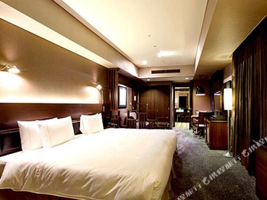 東京汐留皇家花園酒店(The Royal Park Hotel Tokyo Shiodome)豪華特大床房(標準樓層)