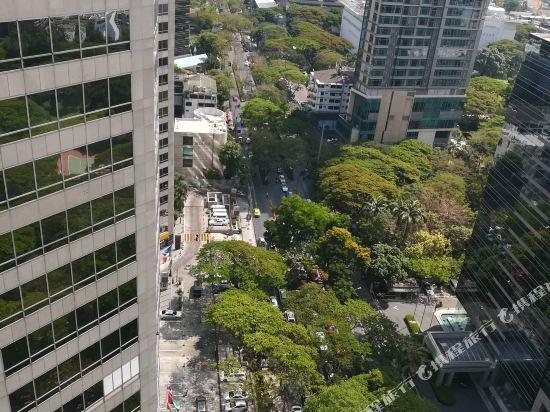 曼谷無線路英迪格酒店(Hotel Indigo Bangkok Wireless Road)眺望遠景