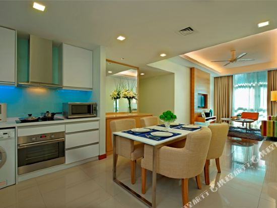 吉隆坡輝盛國際公寓(Fraser Place Kuala Lumpur)兩卧室豪華露台公寓