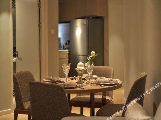 上海奕鄰66酒店(Ten66 Serviced Residences Supercity by Ariva)兩房一廳公寓