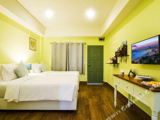 芭堤雅首驛精品酒店(E-Outfitting Boutique Hotel Pattaya)標準雙床房