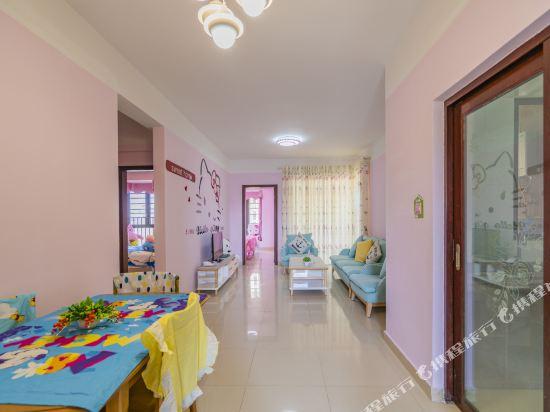 Q加·泰萊童趣主題公寓(珠海橫琴海洋王國店)(Q+ Tailai Tongqu Theme Apartment (Zhuhai Chimelong Ocean Kingdom))童趣主題三房二廳套房