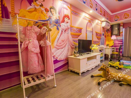夢幻樂園親子主題公寓(廣州萬達廣場店)(Dreamland Family Theme Apartment (Guangzhou Wanda Plaza))白雪公主親子滑梯三床房