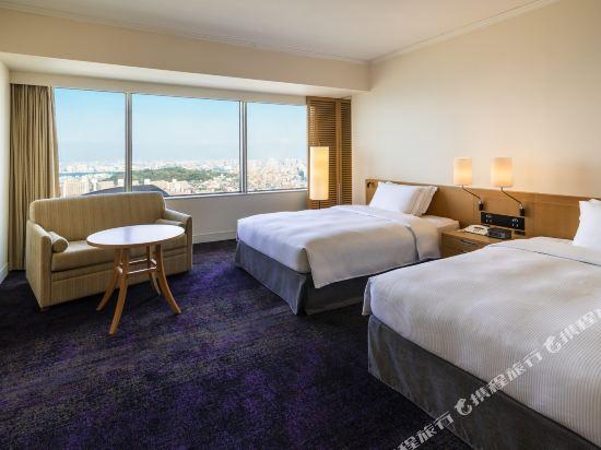 福岡海鷹希爾頓酒店(Hilton Fukuoka Sea Hawk)行政豪華雙床房