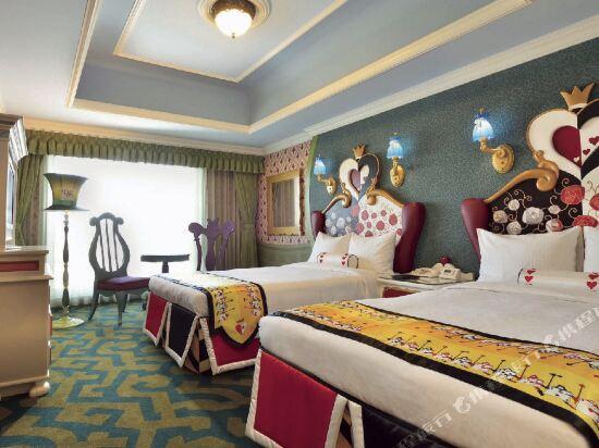 東京迪斯尼樂園大飯店(R)(Tokyo Disney Hotel (R))迪士尼愛麗絲夢遊仙境雙人雙床房