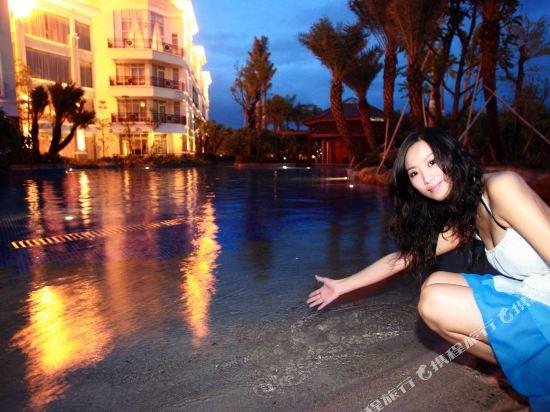 三正半山酒店(東莞橋頭店)(Goodview Hotel (Dongguan Qiaotou))園景區商務大床房