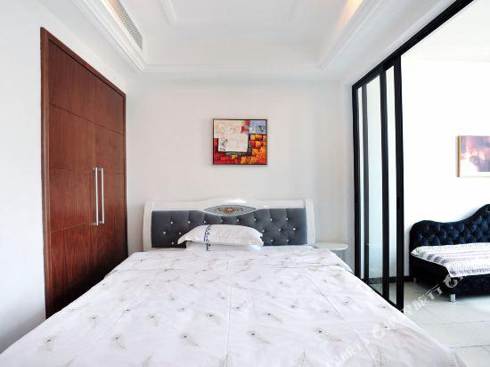 富米國際公寓(珠海華髮商都店)(Fumi Apartment Hotel (Zhuhai Huafa Mall))豪華大床房
