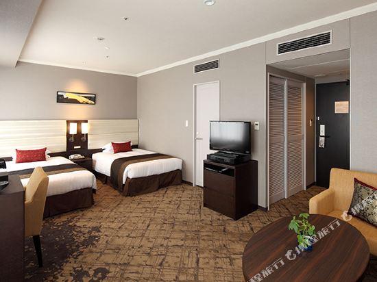 東京東急澀谷卓越大飯店(Shibuya Excel Hotel Tokyu Tokyo)卓越豪華雙床房