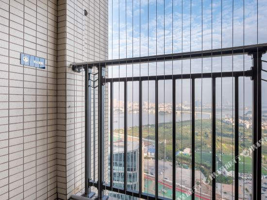 斯維登服務公寓(廣州琶洲國際會展門店)(Sweetome Vacation Rentals (Guangzhou Pazhou International Convention and Exhibition Center))商務藝術雙床房