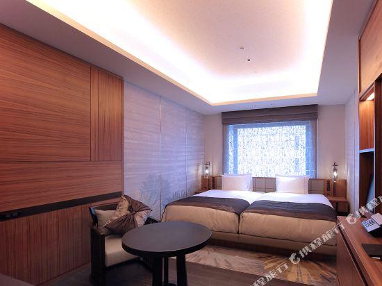 京都四條皇家花園酒店(2018年4月新開業)(The Royal Park Hotel Kyoto Shijo(New Open))豪華雙床房(甄選樓層)