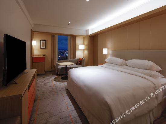 大阪都喜來登酒店(Sheraton Miyako Hotel Osaka)尊貴樓層豪華大床房