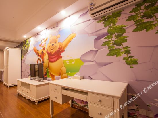 星倫萬達廣場主題公寓(廣州長隆店)(Xinlun Free Hotel International  WanDa)地中海特色家庭子母房
