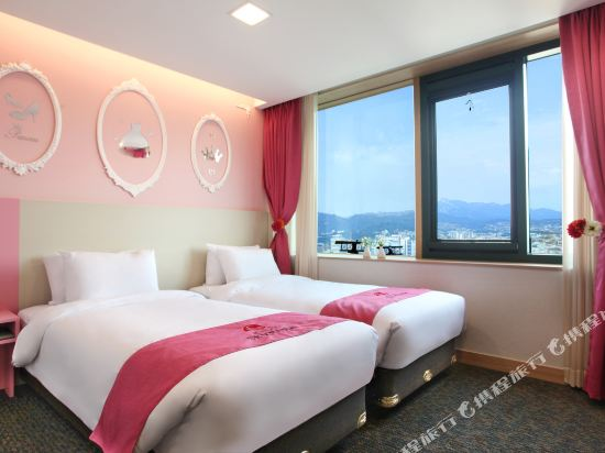 空中花園東大門金斯敦酒店(Hotel Skypark Kingstown Dongdaemun)公主雙床房