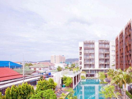 G華欣度假酒店及購物中心(G Hua Hin Resort & Mall)眺望遠景