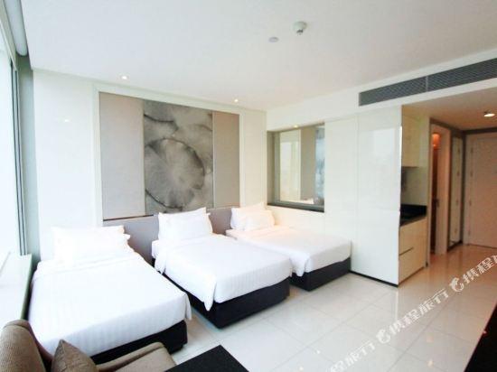 曼谷素坤逸航站 21 中心酒店(Grande Centre Point Hotel Terminal21)豪華三人房