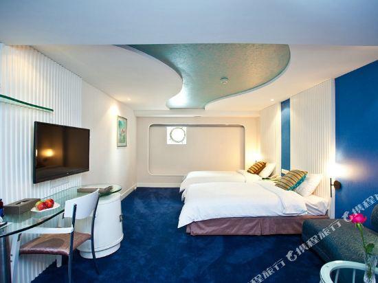 深圳鴻隆明華輪酒店(Cruise Inn)水手房(雙床)