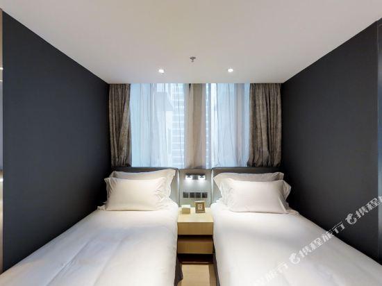 上海奕鄰66酒店(Ten66 Serviced Residences Supercity by Ariva)豪華雙床房