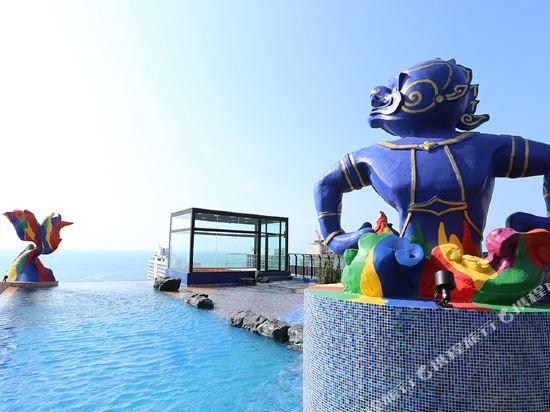 芭堤雅暹羅設計酒店(Siam@Siam Design Hotel Pattaya)室外游泳池
