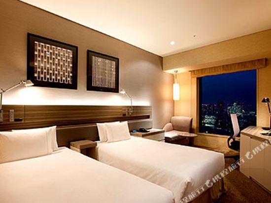 東京汐留皇家花園酒店(The Royal Park Hotel Tokyo Shiodome)標準雙床房(標準樓層)