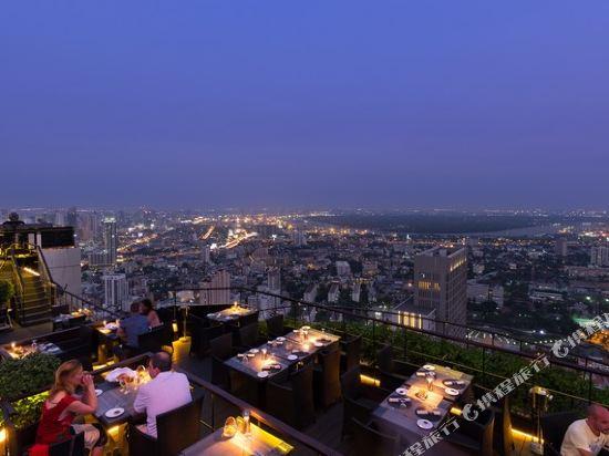 曼谷悅榕莊酒店(Banyan Tree Bangkok)眺望遠景