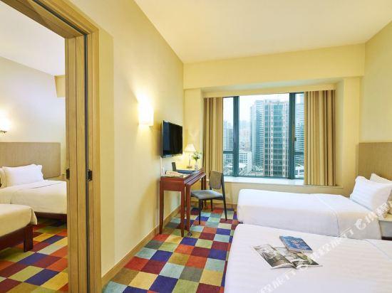 香港悅品海景酒店(原觀塘麗東酒店)(Hotel COZI Harbour View)家庭悅品客房