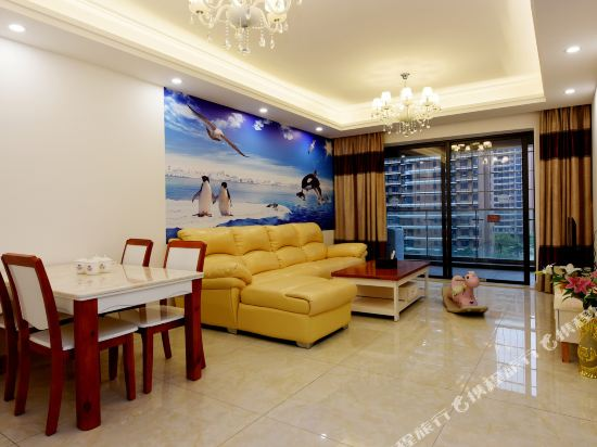 Q加·泰萊半島國際公寓(珠海橫琴海洋王國店)(Tailai Peninsula International Apartment (Zhuhai Hengqin Changlong Ocean Kingdom))歐式寬敞二房二廳套房