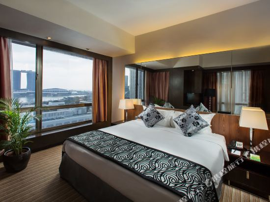 新加坡半島怡東酒店(Peninsula Excelsior Hotel Singapore)尊貴海景房