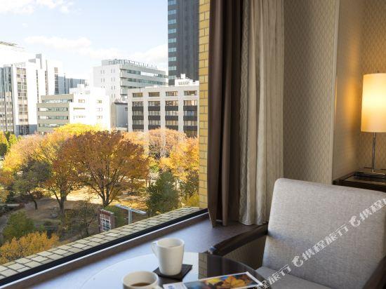 名古屋觀光酒店(Kanko Hotel Nagoya)舒適轉角雙床房