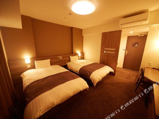 名古屋榮多米豪華酒店(Dormy Inn Premium Nagoya Sakae)雙床房