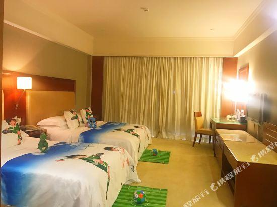 中山雅居樂長江酒店(Agile Changjiang Hotel)高爾夫景觀親子房