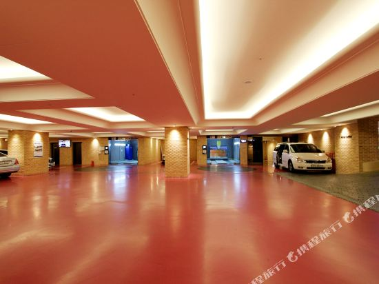 釜山阿爾班酒店(Arban Hotel Busan)停車場