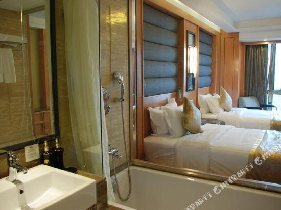 北京京都信苑飯店(Beijing Xinyuan Hotel)標準雙床間
