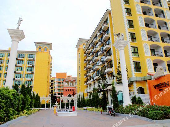 芭堤雅三隻熊威尼斯人公寓(Three Bears, Thailand Pattaya Venetian Apartment)外觀