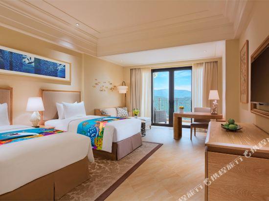 長隆橫琴灣酒店(珠海海洋王國店)(Chimelong Hengqin Bay Hotel (Zhuhai Dolphin Flagship Store))豪華園景房