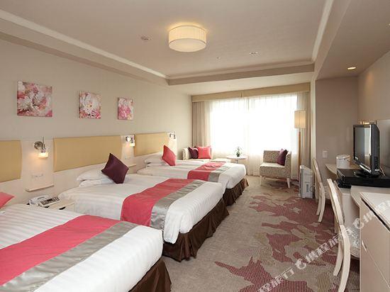 東京東急澀谷卓越大飯店(Shibuya Excel Hotel Tokyu Tokyo)女生高級三人房