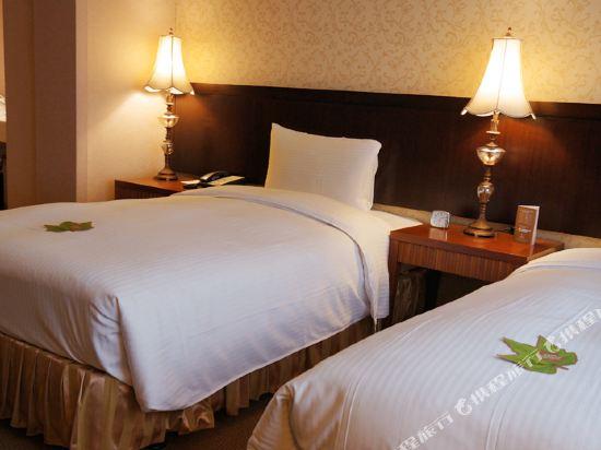 台北神旺大飯店(San Want Hotel)豪華雙床房