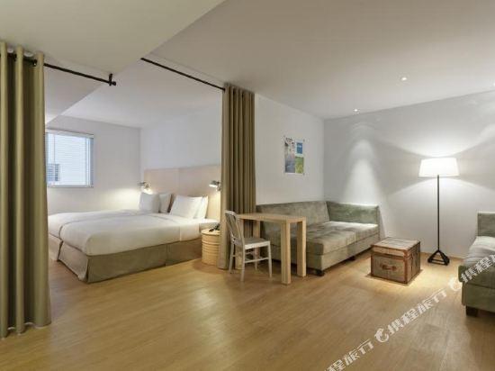 台北西門町意舍(Amba Taipei Ximending)閣樓雙床間