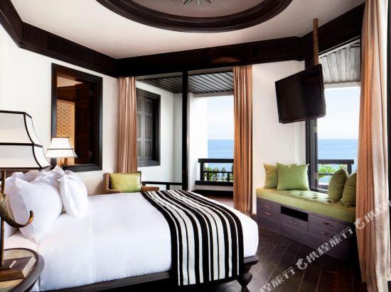 峴港洲際陽光半島度假酒店(InterContinental Danang Sun Peninsula Resort)海景露台特大床套房